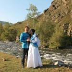 Алтайский свадебный костюм