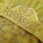 Вечернее платье в алтайском стиле