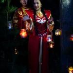 Свадебный алтайский наряд