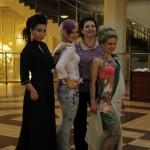 1 место. Татьяна Кишнирева со своими моделями.