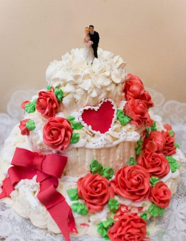 Фото тортов для женеха и невесты