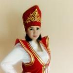 алтай келин женщина в национальной алтайской одежде