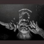 """Триптих """"Сказитель"""". Художник Аржан Ютеев."""