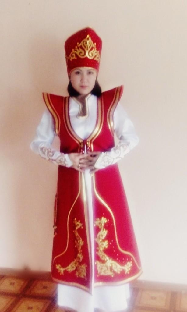 Как сшить алтайский национальный костюм