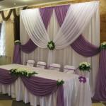 оформление свадьбы Горно-Алтайск 2 драпировка тканью бумажными цветами