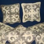 подушки из войлока