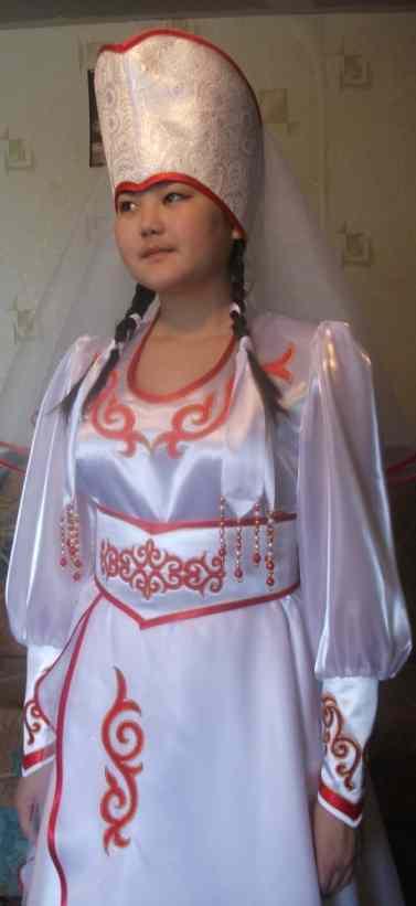 Как сшить алтайский национальный костюм 50