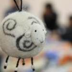 войлочная овечка